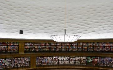 Stockholm Public Library in Stockholm, Sweden