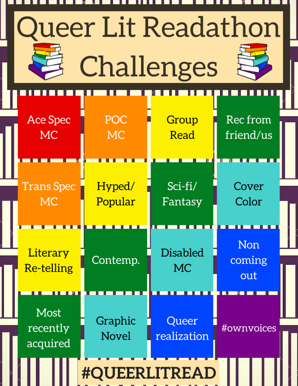 QueerLitRead Challenges